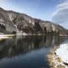 冬の中綱湖も綺麗だよ。
