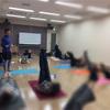 チベット体操の講座、お手伝いに行ってきました!