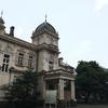 雨の旧岩崎邸庭園
