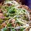 11/16のランチ@東京 豚肉としめじの生姜焼き