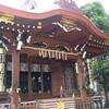 目黒の総鎮守 大鳥神社の拝殿はシックでカッコいい