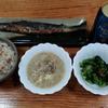 榎ご飯と榎のスープ