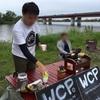 今日は紀ノ川でサイクリストカフェ!