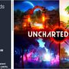 Uncharted Lands 4つのファンタジー世界からなるTerrain用テクスチャ&3Dモデル素材