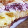 セブンイレブン「ダブルクリームの苺ホイップ&カスタード」いちごの程よい酸味がカスタードとの相性バッチリでした( ^∀^)