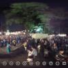 THETA で 盆踊り大会 を撮ると・・・? #360pic