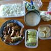 キャベツの肉巻き弁当  ~  作れる日に作った作り置き