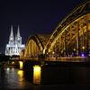 ケルン大聖堂と鉄橋