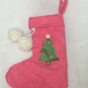 工作アイデア⑩ 折り紙じゃない!紙でつくる!『クリスマスの靴下』