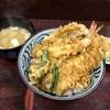 神奈川区山内町 横浜中央卸売市場の「木村家」で天丼