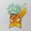 スパーク(星のカービィ)×イケメンピカ様。 Spark × Cool Pikachu.