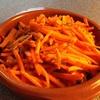 ✴︎ギーでスパイス人参炒め、ギーを練り込んだ南瓜のパテ(覚書き)、焼きエリンギと芽キャベツなど