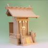 ひとつだけの神棚をバッチリ祭りたいときには大きな一社の神棚がある