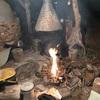焚き火肉頂上決戦 牛タンバーグと薄切りステーキの猛攻の巻
