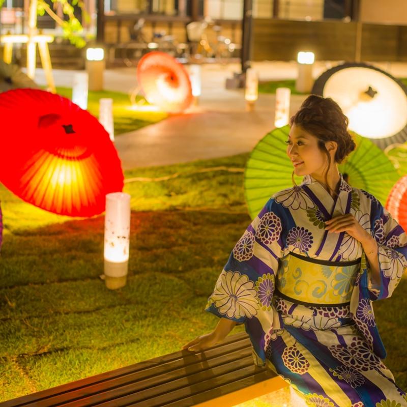 日本三景・天橋立で夏の幻想的ライトアップ「天橋立まち灯り」開催中!