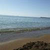 久々の快晴。三国サンセットビーチで身も心も解放された。