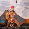Tutup Ngisor村のパデポカンでの独立記念日の行事