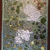 ランチョンマットイスラム模様と押し花コラボ1-4