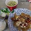 幸運な病のレシピ( 1804 )昼:オム焼きそば(お肉と野菜たっぷりでソバは1/4人前)