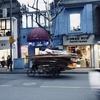 見かけたらラッキー(かどうかは知りませんが)、上海の貨物三輪車とアラン・ドローム