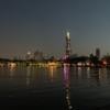 南京旅行(5) 〜玄武湖公園の夜景〜