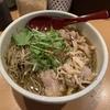 東京のど真ん中で、山形の肉そばを頂きました。
