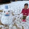 季節外れの雪景色(*´∀`*)