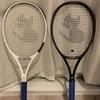 おニューのラケット@土曜はテニス