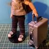 ミニチュア、ハードタイプのスーツケースを作ってみた