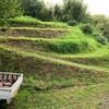 8月の草刈り -その5:丸山城二の丸と畑の草刈りー
