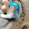 骨折したときのお風呂や水遊びに役立つギプス防水カバー