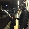 アフリカのゴンさんと楽しい列車道中😍でも、飲んだら会社にかならず来て下さい❌