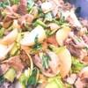 豚肉とかぶのソテー 柚子胡椒風味