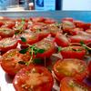 オーブンでセミドライトマト