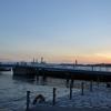 門司港レトロで日没