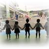 No.178 幼稚園のパネル「光に向かう子ら(仮題)」~その1「下絵完成」