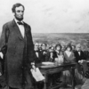 Abraham Lincoln's Gettysburg Address - Government Of the People, By the People, For the People 人民の、人民による、人民のための政府
