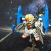 RX-178+FXA-05D  MK-Ⅱディフェンサー(スーパーガンダム) 【ガシャポン戦士f  レビュー】