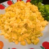 コスパ最強【1食23円】ワンパンdeスクランブルエッグコーンの簡単レシピ