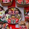 木津市場の献鯛式2017。今宮戎神社に鯛を奉納。