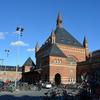 王たちの眠る場所(ロスキレ大聖堂@デンマーク・大聖堂にたどり着くまでの巻)