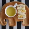2歳9ヶ月、息子の朝ご飯【サンドイッチとコーンスープ】