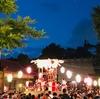住吉西公園と井田神社で盆踊り