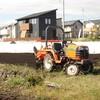 ニンニク用の畝作り