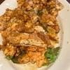 【イムズの思い出】HAKATA ONOで四川青山椒担々麺とか油淋鶏ランチwithおかずもやたらあるサラダバーおじさん。