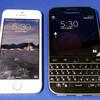 大きさも重量も許容できそうな気がするBlackBerry Classic