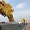 【ベトナム観光】ドラゴン橋を走る!