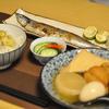 栗ご飯、秋刀魚塩焼き、おでん 秋メニュー始めました @家ごはん