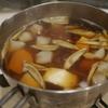ストック食材(小間肉、塩鮭)で和食献立