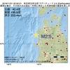 2016年11月01日 22時50分 秋田県沿岸北部でM2.5の地震